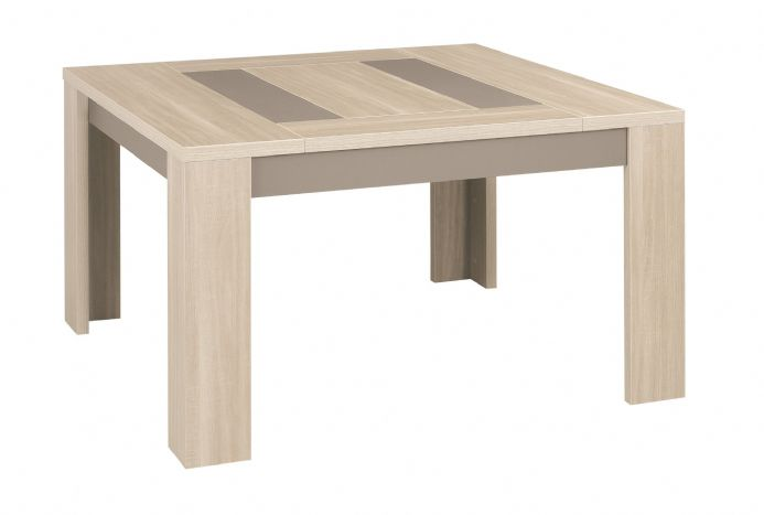 Atlanta Light Oak Square Table